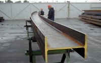 Wide Flange Beam Curving