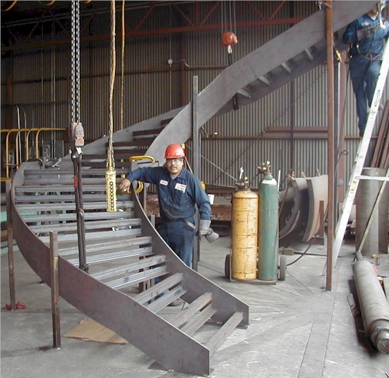 Curved Stairways Amp Stair Stringers Gardena Ca A Amp M
